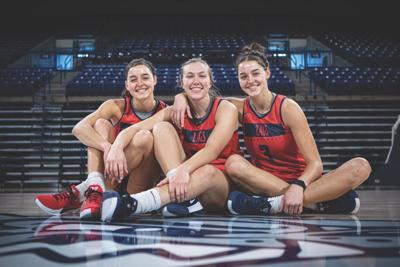 Women's Basketball: The Wirth twins and Townsend take on goals
