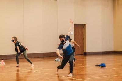GU Dance Program practice