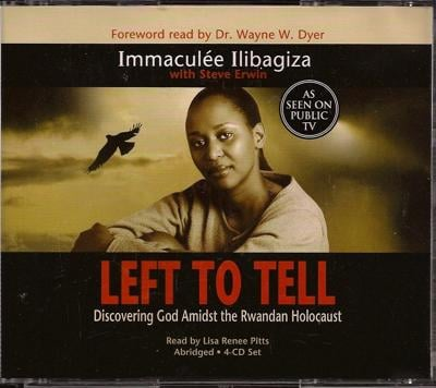 """""""Left to Tell"""" protagonist Immacule Ilibagiza currently resides in the United States."""