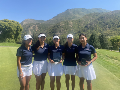 GU women's golf tourney win