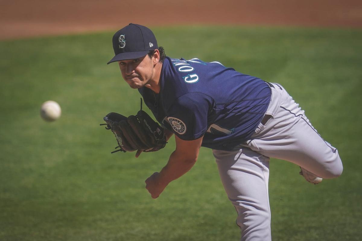 Marco Gonzales action shot