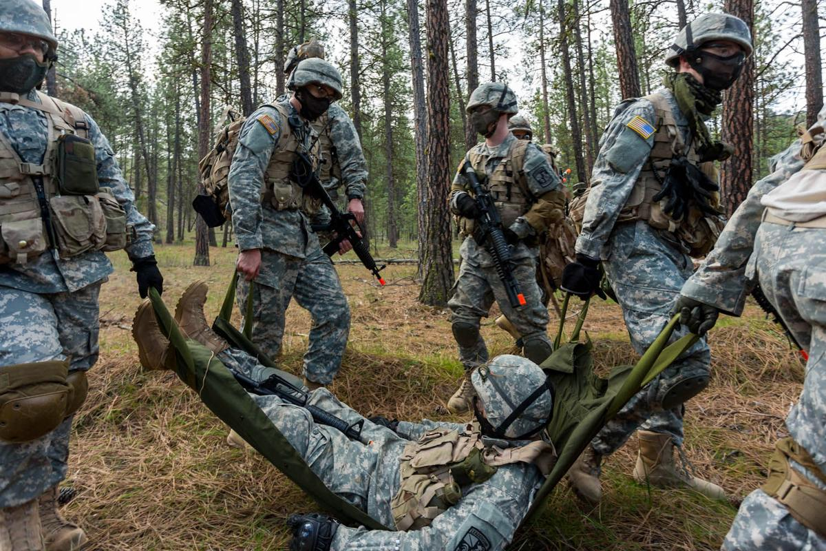 ROTC storms Riverside State Park