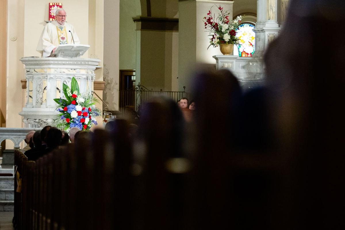Gonzaga's Fr. Bernard Coughlin's S.J. funeral remembers his legacy