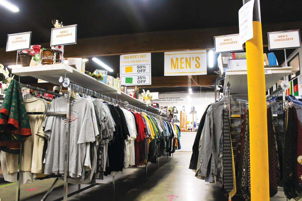 A look inside a local thrift store