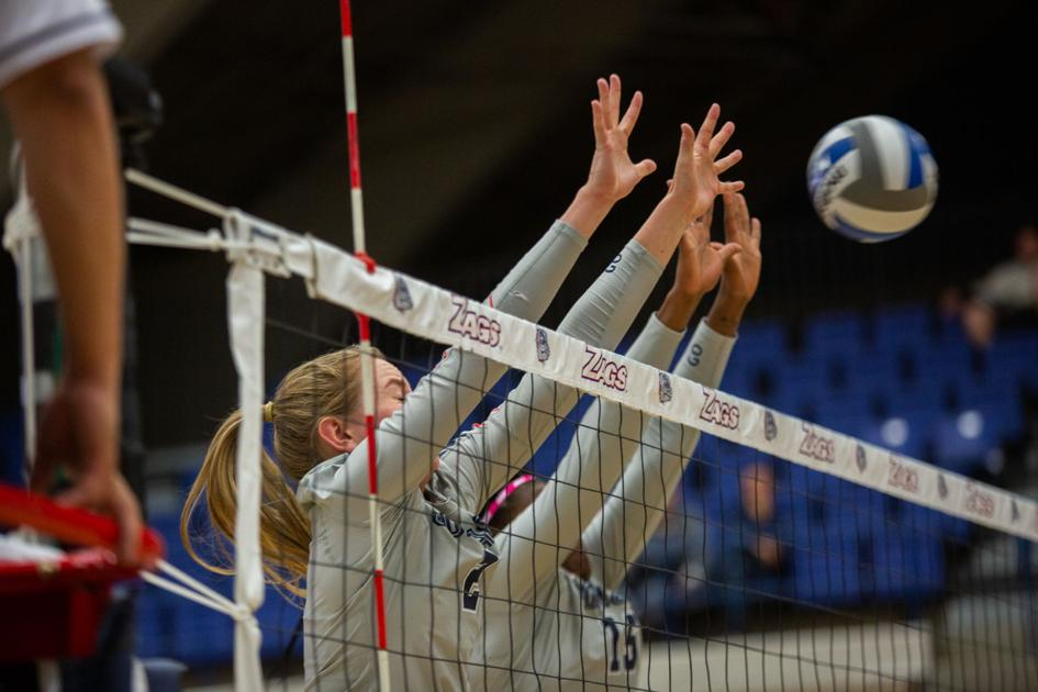 Volleyball: Gonzaga defense overwhelmed by Pacific in four sets