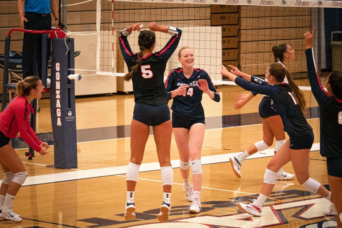 Volleyball takes down NDSU in Portland