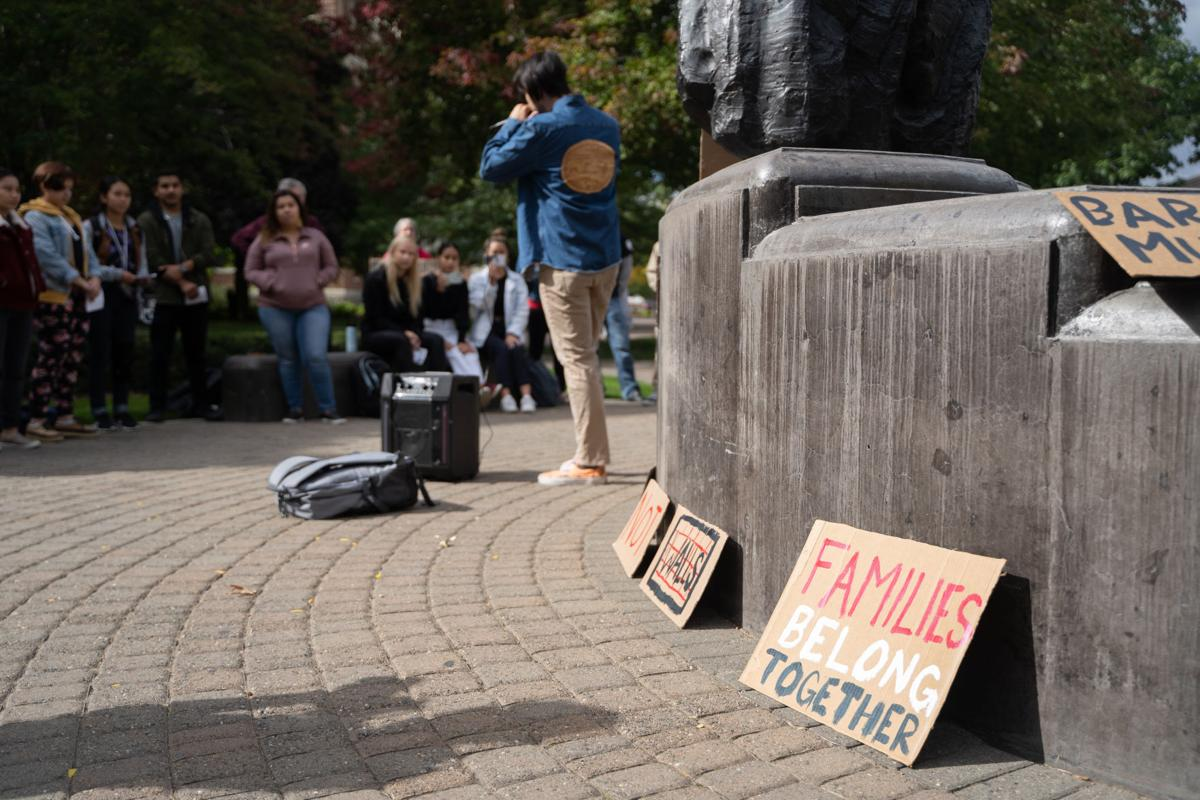 GU Students Lead Protest