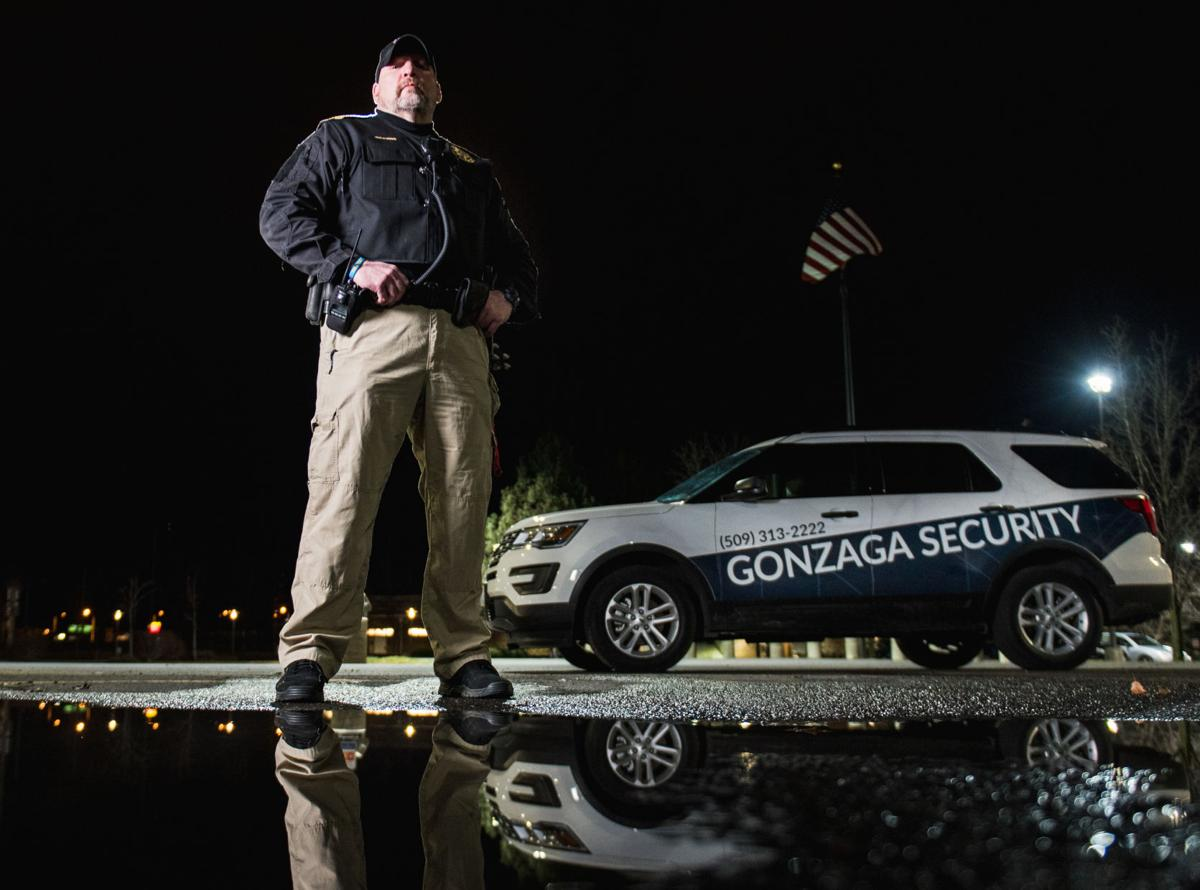 CSPS officer John Johnston aims to protect the GU Community