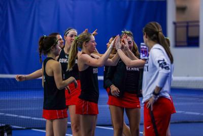 Women's Tennis: Gonzaga sweeps wins on Saturday doubleheader