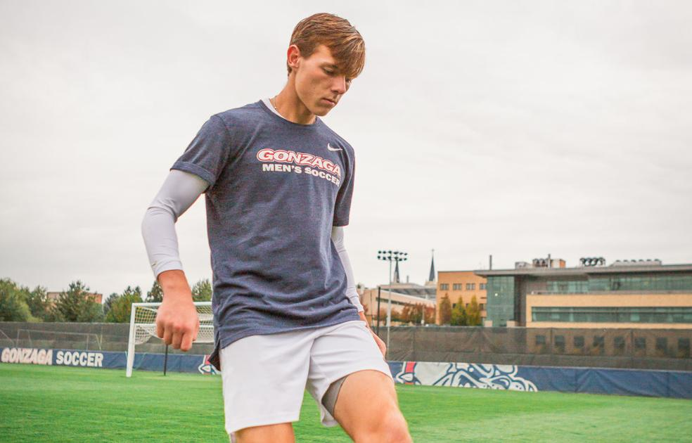 Men's soccer: Rovegno steps up big in first year for Gonzaga
