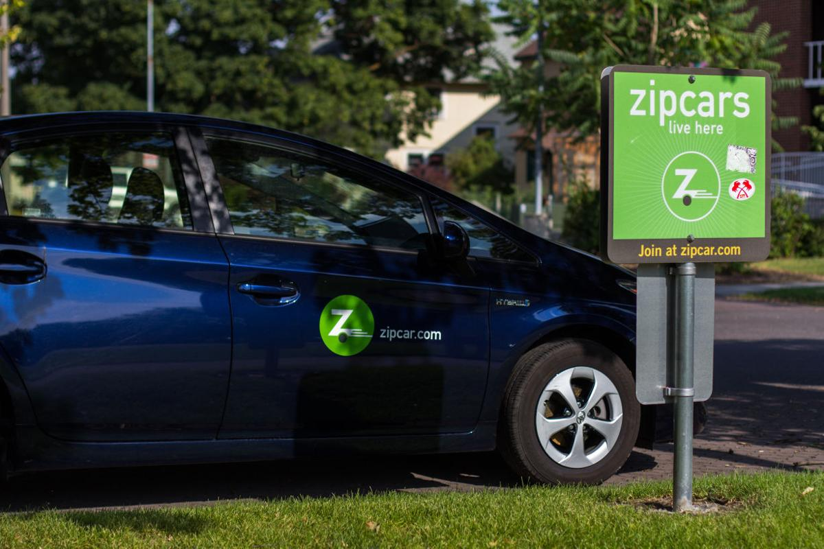 zipcars on campus