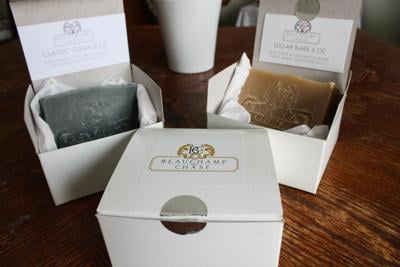 Beauchamp and Chase creates gender-neutral soaps that have their own creative and innovative name.