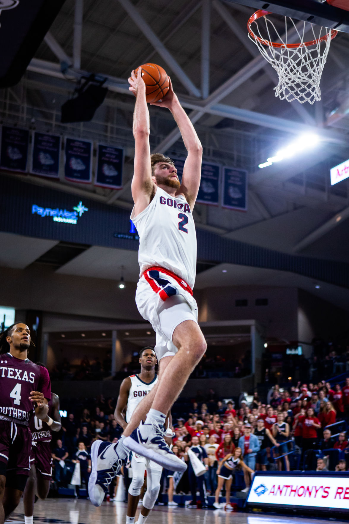 Men's Basketball: Timme keeps the tradition alive at Gonzaga