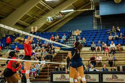 20190908- Women's Volleyball vs. Ball State- TBentley