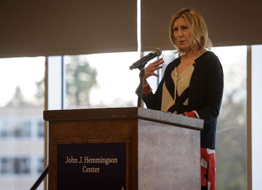 College Republicans bring Christina Hoff Sommers for equity feminism lecture