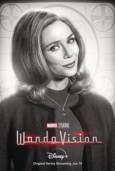 Wandavision began streaming Jan. 15 and will include nine 30-40 minute episodes across the first season