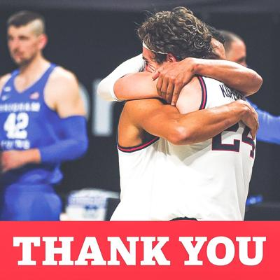 Thank you GU basketball