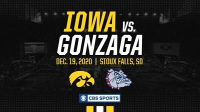 GU vs. Iowa graphic