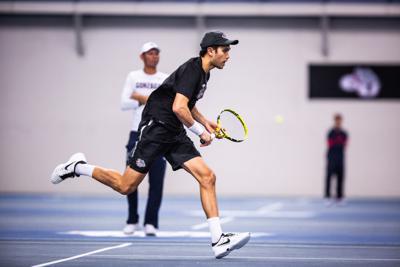 Men's Tennis: Gonzaga wins both doubleheader matches Saturday