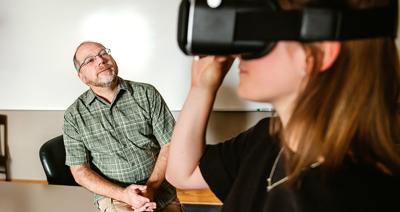 The future is now: Gonzaga professor utilizes VR in classroom