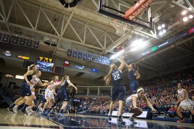 women's basketball vs. BYU