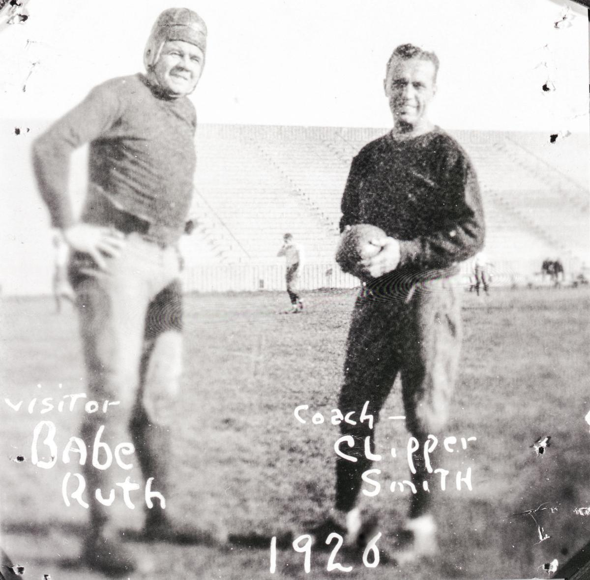 Babe Ruth and Clipper Smith