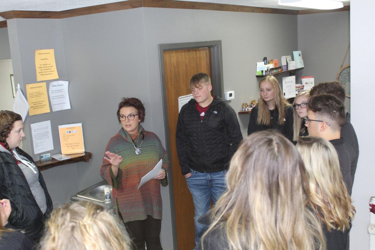 Dr. Rickertsen with students.jpg