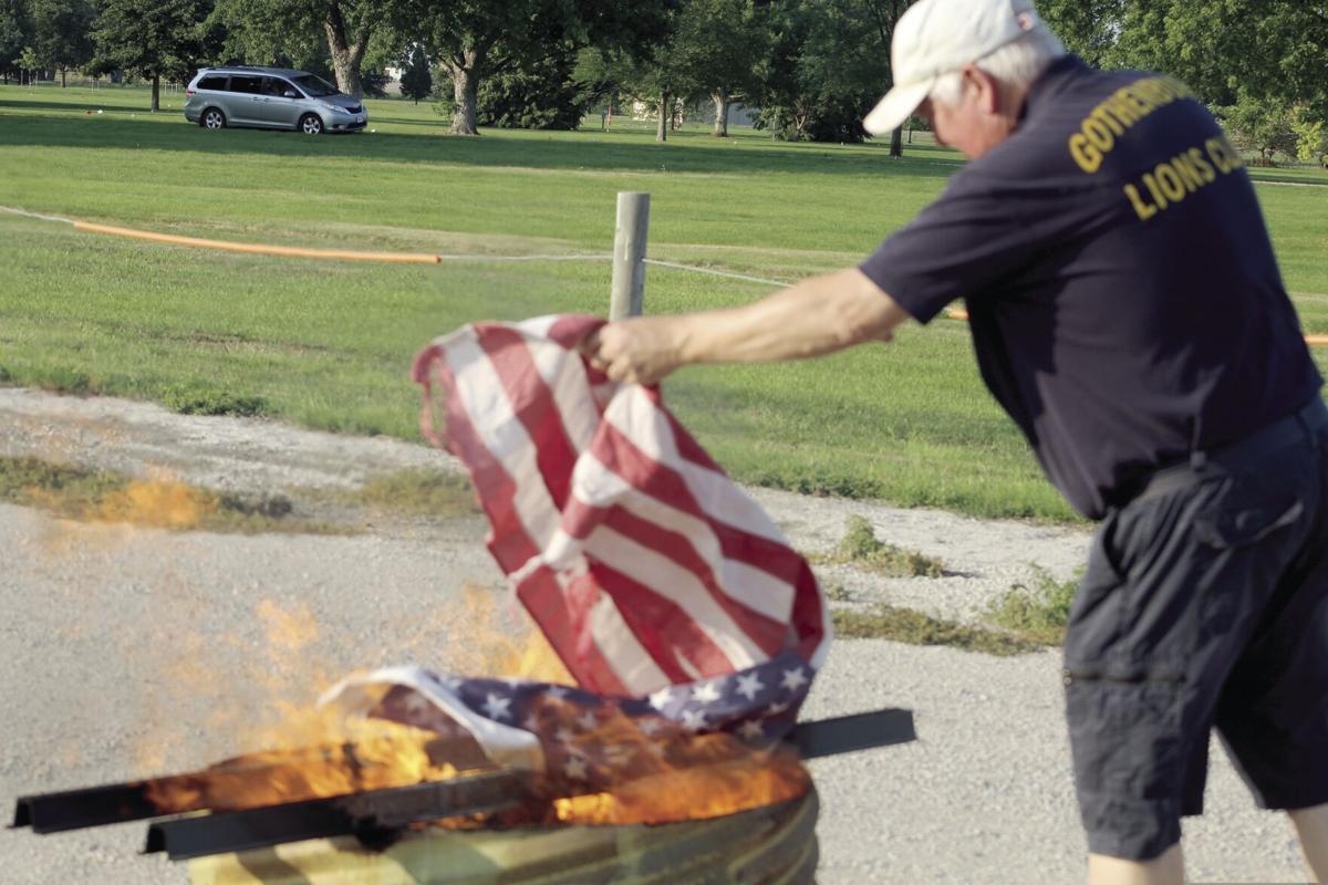 Flag Retirement 1