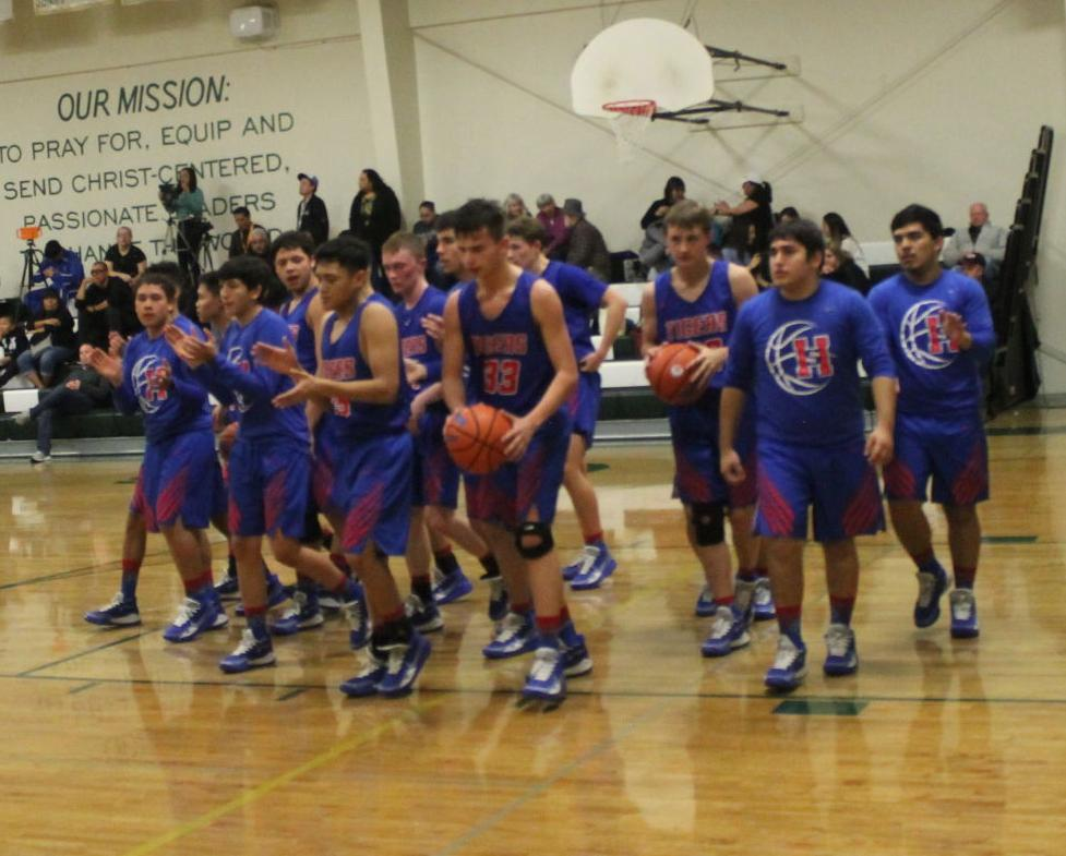 Tiger Boys Hit The Court In Day One At Hope Tournament