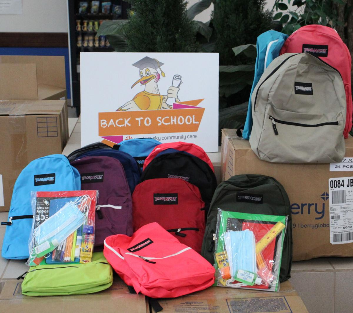 Backpacks And Supplies For Tigers