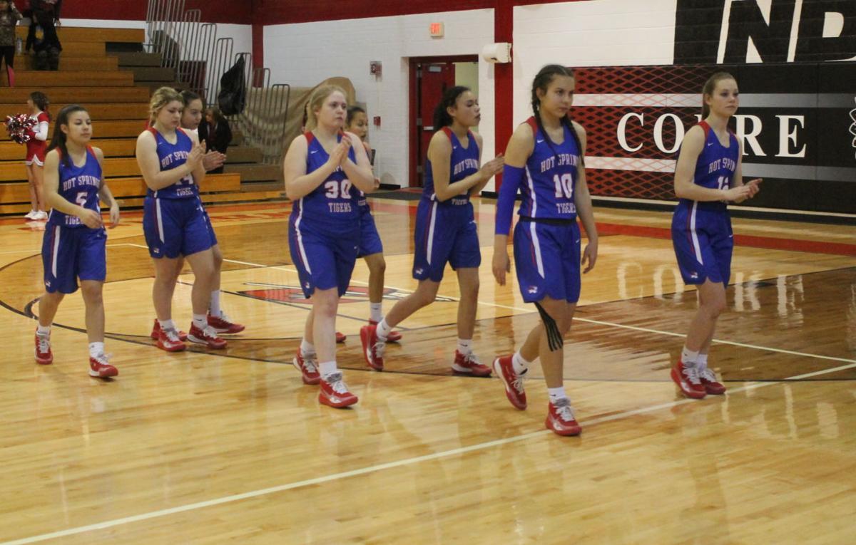 Tiger Girls Basketball At Cobre District Tournament 1