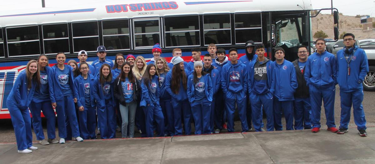Tigers Depart For Tournament Action