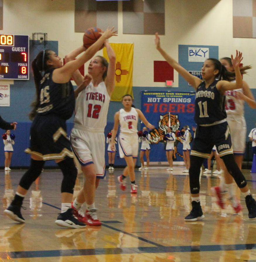 Over The Defense, Haley Woolf Shoots For Two