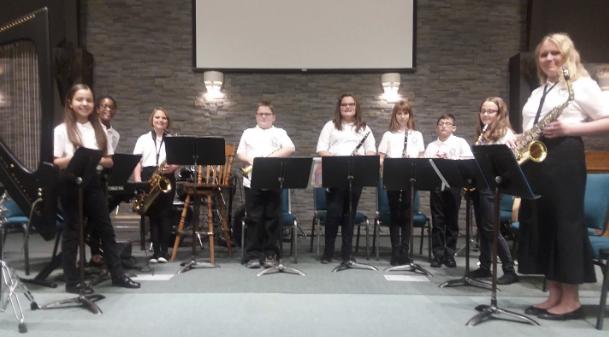 Calvary Christian School Band