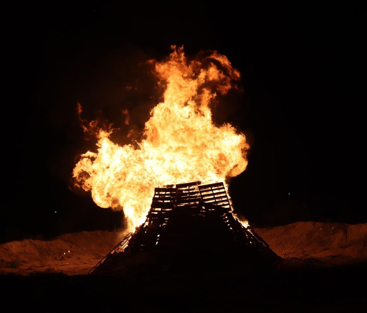 Homecoming 2021 The Bonfire 1