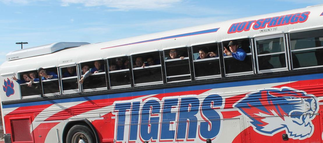 TIGERS ON THE ROAD TO VICTORY