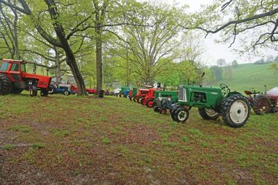 Antique farm show held