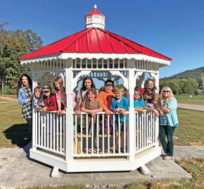 Kingswood Home for Children  receives sidewalk and gazebo
