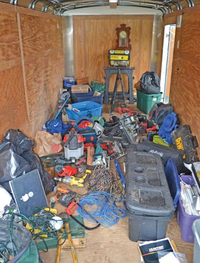 Search warrant leads to recovery of stolen items
