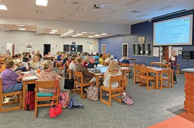 Grainger teachers attend Read 360 training