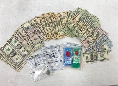 Parking lot nap results in drug arrest