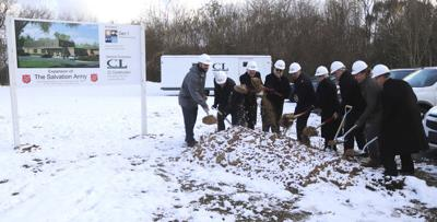 Local corps breaks ground for expansion
