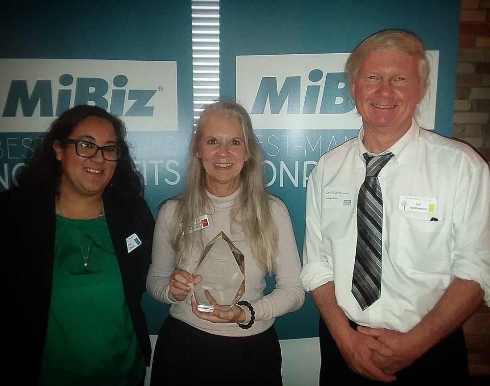 Extended Grace winner of MiBiz Award