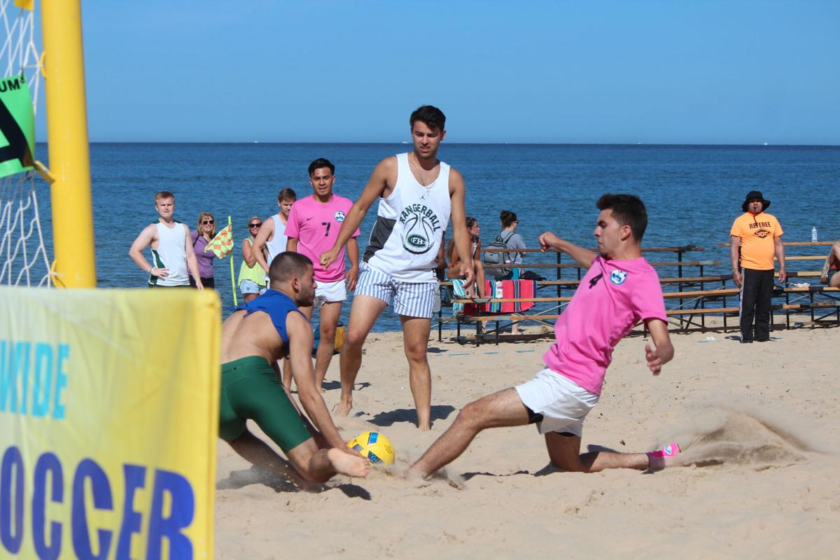 Sand, sweat and soccer