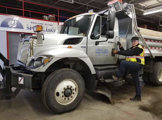 Early snow messes with timing of public works jobs