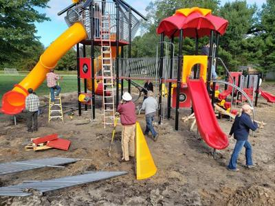 Fire barn playground is now open
