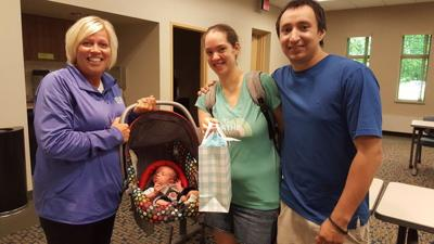 Dispatcher meets baby born on side of highway