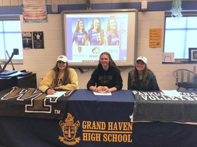 GH athletes 'excited' to continue playing careers in college