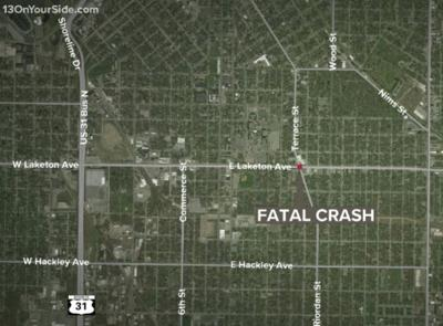Motorcyclist killed in Muskegon hit-and-run; 1 person in custody