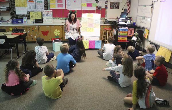 Meet Ms. Streng's second-grade class